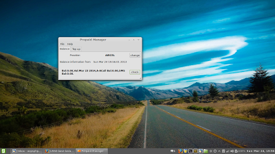 Linux Prepaid Manager