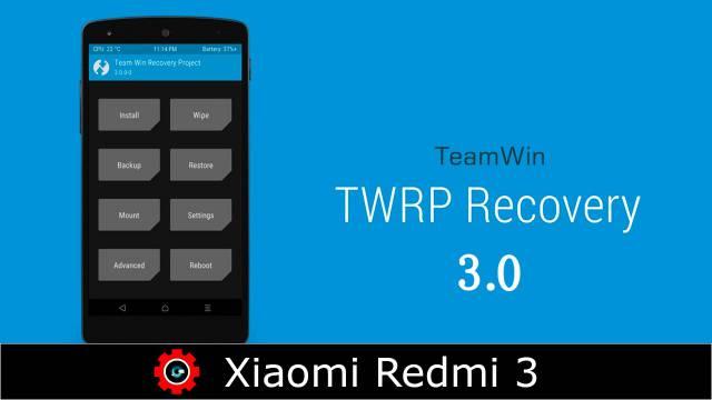 Unlock Bootloader, Flash TWRP & Root Redmi Note 3 Kenzo (Snapdragon 650)